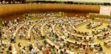 Geneva work stoppage: UN staff protest 7.7 percent pay cut