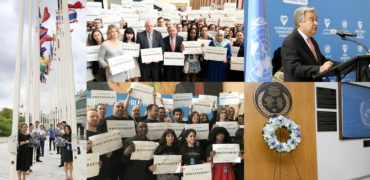 World Humanitarian Day: UN staff stand together to pay tribute to aid workers and urge protection for civilians in armed conflict